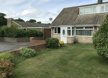 Thumbnail 3 bed semi-detached bungalow for sale in Greencroft, Redcar, North Yorkshire