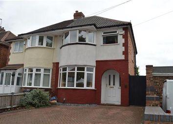 Thumbnail 3 bed semi-detached house to rent in Coalway Avenue, Sheldon, Birmingham