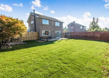 Thumbnail 4 bed detached house for sale in Wylson Close, Cranwell Village, Sleaford