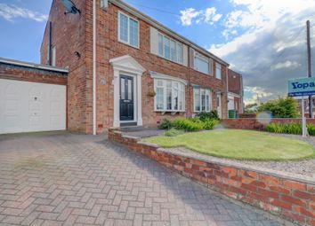 Thumbnail 3 bedroom semi-detached house for sale in Ashington Drive, Choppington