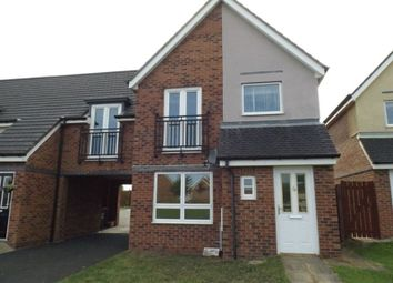 Thumbnail 3 bed semi-detached house to rent in Hindmarsh Drive, Ashington