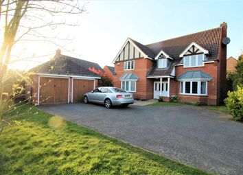 Thumbnail 5 bed detached house to rent in Brudenell Close, Cawston, Rugby