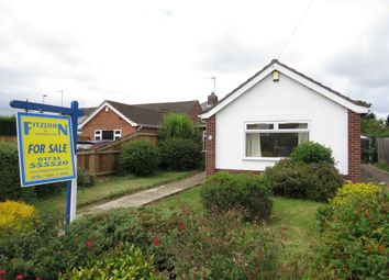 Thumbnail 2 bed detached bungalow for sale in Stallebrass Close, Stanground, Peterborough