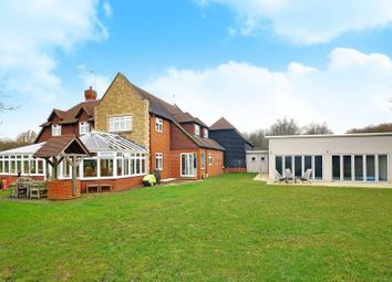 Thumbnail 5 bed detached house to rent in Backside Common, Guildford