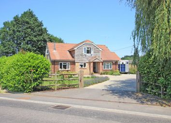 Thumbnail 5 bed detached house for sale in Romsey Road, Lockerley, Romsey