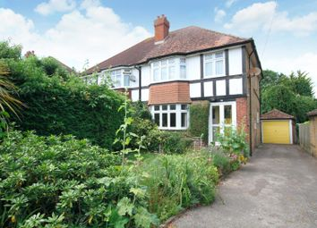 Thumbnail 3 bed semi-detached house for sale in Bramley Avenue, Canterbury