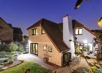 Thumbnail 4 bed detached house for sale in Selworthy, Furzton, Milton Keynes