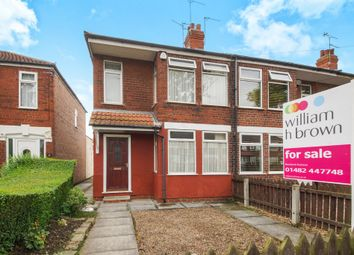 Thumbnail 3 bed end terrace house for sale in National Avenue, Hull