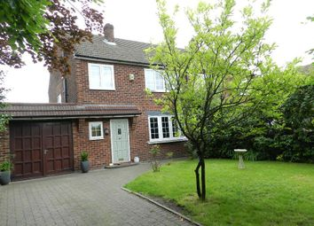 Thumbnail 3 bed semi-detached house for sale in Lodge Drive, Culcheth, Warrington