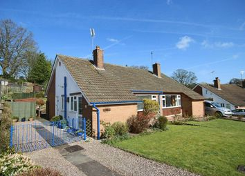 Thumbnail 2 bed semi-detached bungalow for sale in Summerhill Gardens, Market Drayton