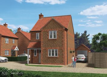 Thumbnail 3 bed detached house for sale in Station Road, Heacham, King's Lynn