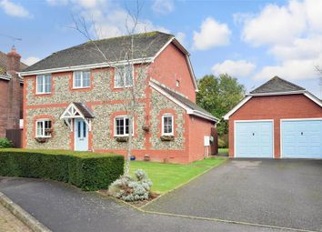 Thumbnail 4 bed detached house for sale in Warminghurst Close, Ashington, West Sussex