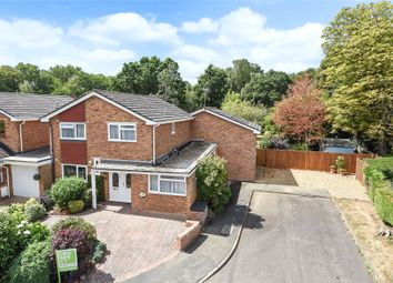 Thumbnail 5 bed detached house for sale in Wellesley Close, Bagshot, Surrey