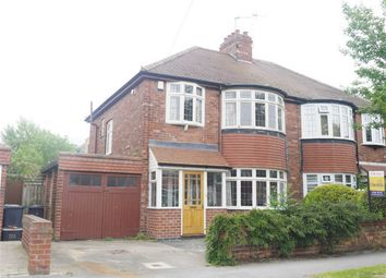 Thumbnail 3 bedroom semi-detached house for sale in Manor Drive North, Acomb, York