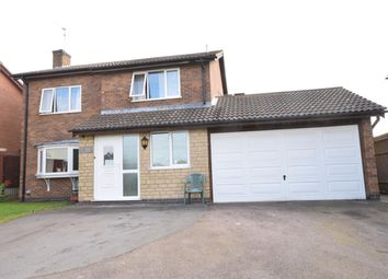 Thumbnail 4 bed detached house for sale in Hardwicke Road, Narborough, Leicester
