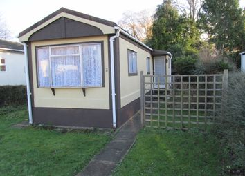 Thumbnail 2 bed mobile/park home for sale in Dagley Farm Park, Shalford, Guildford, Surrey