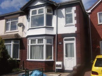 Thumbnail 2 bedroom end terrace house to rent in Torrington Avenue, Tile Hill, Coventry, West Midlands