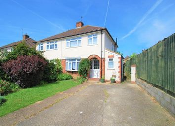 Thumbnail 3 bed semi-detached house for sale in Gilders Road, Chessington