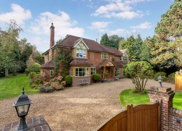Thumbnail 5 bed detached house for sale in Park Lane, Cane End, Reading