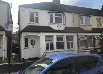 Thumbnail 3 bed end terrace house to rent in Lyndhurst Road, London