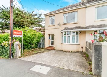 Thumbnail 3 bed semi-detached house for sale in Park Avenue, Plymstock, Plymouth