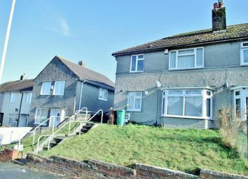 Thumbnail 1 bed flat for sale in Hawkinge Gardens, Ernesettle, Plymouth