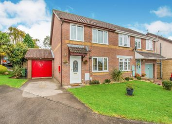 Thumbnail 3 bed semi-detached house for sale in Clover Court, Ty Canol, Cwmbran