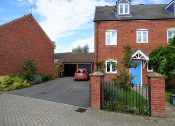 Thumbnail 3 bed end terrace house for sale in Kinloss Drive Kingsway, Quedgeley, Gloucester
