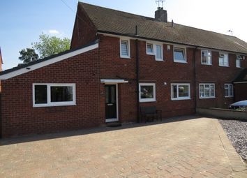 Thumbnail 3 bed semi-detached house for sale in Thackeray Close, Worksop