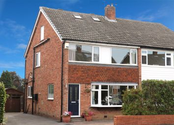Thumbnail 4 bed semi-detached house for sale in Victoria Mount, Horsforth, Leeds
