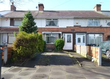 Thumbnail 3 bed terraced house for sale in Carshalton Road, Kingstanding, Birmingham