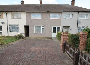 Thumbnail 3 bed terraced house for sale in Newbury Gardens, Harold Hill, Essex