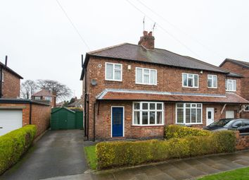 Thumbnail 3 bed semi-detached house for sale in Heworth Hall Drive, Heworth, York