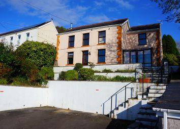 Thumbnail 4 bed detached house for sale in Penygraig Road, Pontardawe, Swansea.
