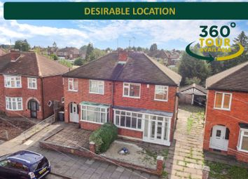 3 bed semi-detached house for sale in Deancourt Road, West Knighton, Leicester LE2