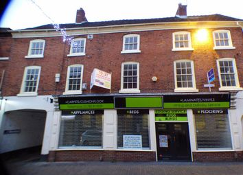 Thumbnail 3 bed flat to rent in High Street, Stone, Staffordshire