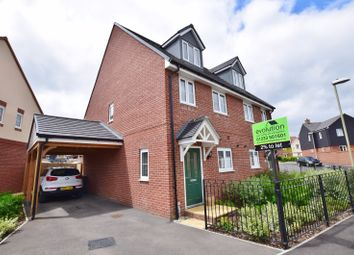 Thumbnail 3 bed semi-detached house to rent in Dorset Crescent, Bridgfield, Ashford