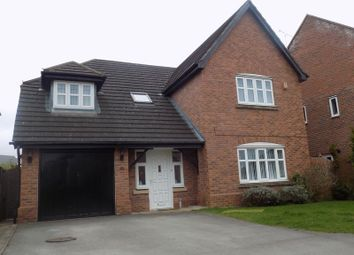 Thumbnail 4 bed detached house to rent in Blenheim Close, Stafford