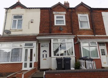 Thumbnail 3 bed terraced house for sale in Junction Road, Handsworth, Birmingham