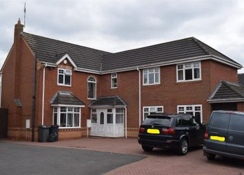 Thumbnail 5 bed detached house for sale in Sterling Way, Maple Park, Nuneaton
