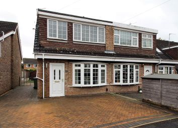 Thumbnail 3 bed semi-detached house for sale in Evesham Close, Tytherington, Macclesfield