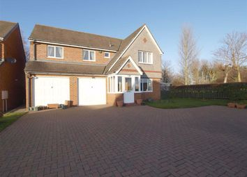 Thumbnail 4 bed detached house for sale in Kelsey Way, Cramlington