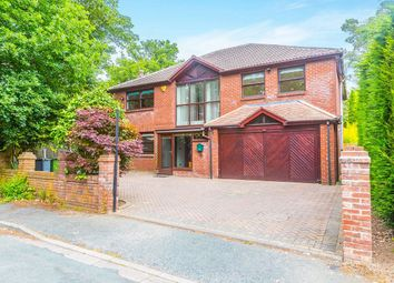 Thumbnail 5 bed detached house to rent in Croft Road, Wilmslow
