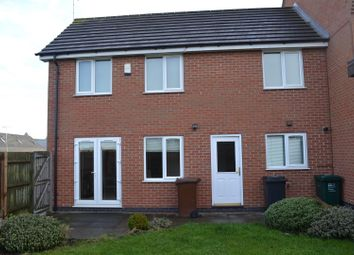 Thumbnail 3 bed town house for sale in Box Close, Woodville, Swadlincote