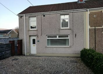 Thumbnail 3 bed end terrace house to rent in Cardiff Road, Aberdare
