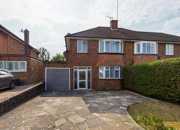 Thumbnail 3 bed semi-detached house for sale in Raisins Hill, Pinner
