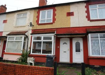 Thumbnail 2 bed terraced house to rent in Westbury Road, Edgbaston