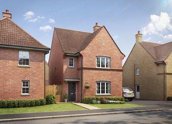 "Thumbnail 3 bed detached house for sale in ""The Hatfield "" at Kiln Drive, Stewartby, Bedford"