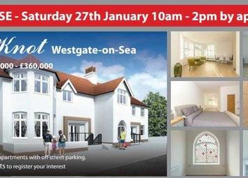 Thumbnail 1 bed flat for sale in The Knot, Beach Road, Westgate-On-Sea
