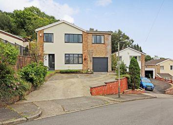 Thumbnail 4 bed detached house for sale in Hilltop Crescent, Pontypridd